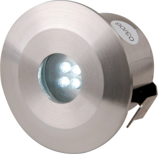 Knightsbridge Kit4W IP44 Stainless Steel LED Kit x 4 - White - Knightsbridge - sparks-warehouse