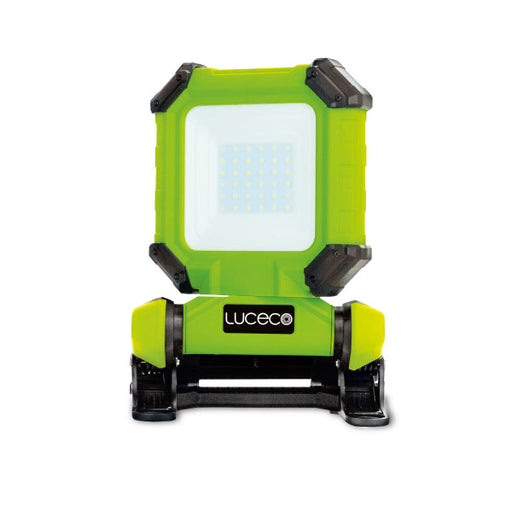 Luceco LCWR13G60 Rechargeable Clamp Worklight 1300lm 15W IP54 6000k - Luceco - Sparks Warehouse