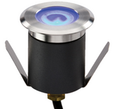 Knightsbridge LEDM07B IP65 230V 1W High Output LED Blue Mini GRound Light comes With Cable.