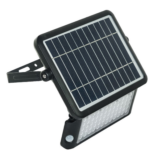 Luceco LEXSF11B40 Guardian IP65 Solar Powered Outdoor LED Flood With PIR Sensor - Luceco - Sparks Warehouse