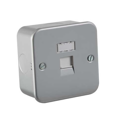 Knightsbridge MRJ45 Metal Clad RJ45 NETWORK Outlet - Knightsbridge - sparks-warehouse