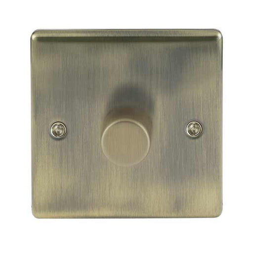 BG Nexus NAB81P Metal Antique Brass Single 1 Gang 2 Way Dimmer Switch - BG - Sparks Warehouse
