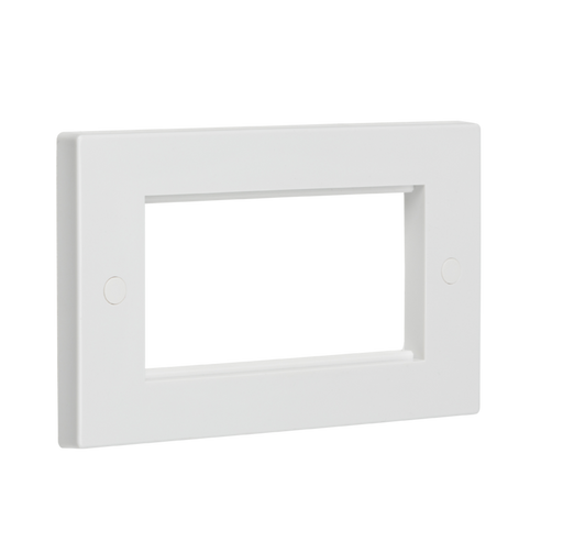 Knightsbridge NET4GWH 4G Modular Face Plate - White - Knightsbridge - Sparks Warehouse
