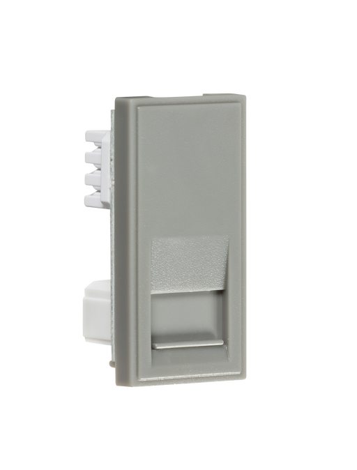Knightsbridge NETBTSGY Modular Telephone slave Outlet - Grey - Knightsbridge - Sparks Warehouse