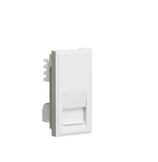 Knightsbridge NETBTSWH Modular Telephone slave Outlet - White - Knightsbridge - Sparks Warehouse