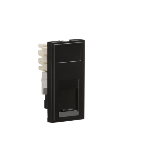 Knightsbridge NETRJ11BK Modular RJ11 Outlet - Black - Knightsbridge - Sparks Warehouse