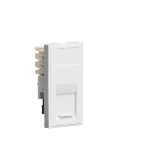 Knightsbridge NETRJ11WH Modular RJ11 Outlet - White - Knightsbridge - Sparks Warehouse