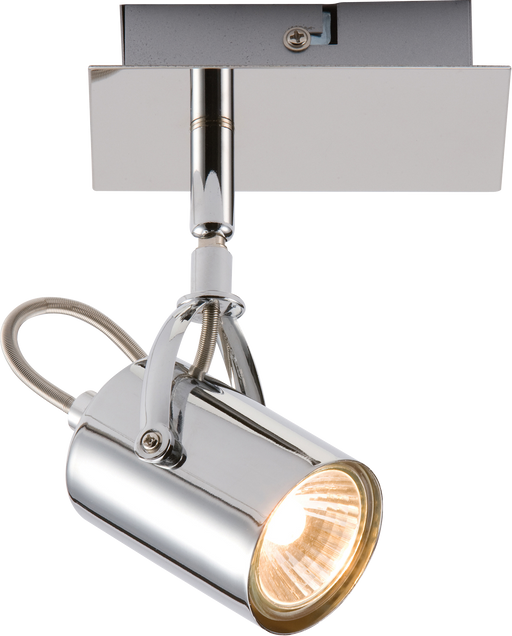 Knightsbridge NSP1C 230V GU10 Single Chrome Spotlight - Knightsbridge - Sparks Warehouse