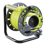 BG Masterplug OATRU3013FL3IP Masterplug 25m + 3m 4 Gang IP Socket 13A Anti Twist Reverse Reel