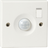 Knightsbridge PIR0901S Wall Mounted Switched PIR Sensor, C/W Switch - IP20