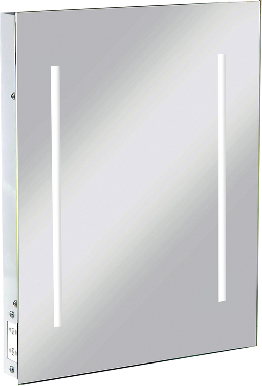 Knightsbridge RCTM2LED IP44 LED BATHROOM MIRROR c/w Dual Shaver Socket - Knightsbridge - sparks-warehouse