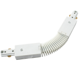 Knightsbridge TRKFCW 230v Single Circuit Track  flexible connector White
