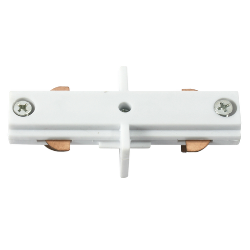 Knightsbridge TRKLCW 230v track In-line connector White.
