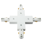 Knightsbridge TRKXW 230v  Single Circuit Track connector  x White