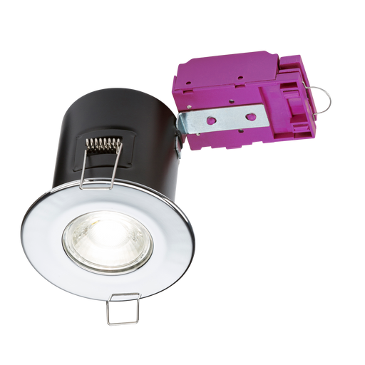Knightsbridge VFCDC Fire Rated DownLight GU10 - Chrome