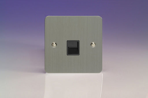 Varilight XFSTMB - 1-Gang Telephone Master Socket - Varilight - Sparks Warehouse