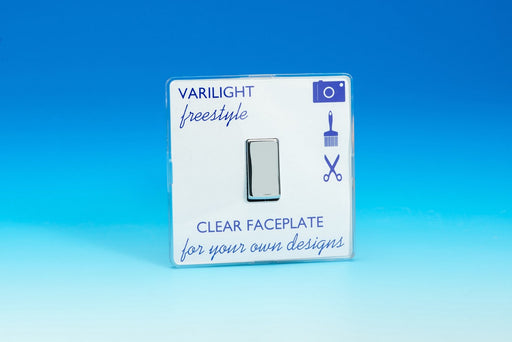 Varilight XIF1C - 1-Gang 10A 1- or 2-Way Rocker Switch