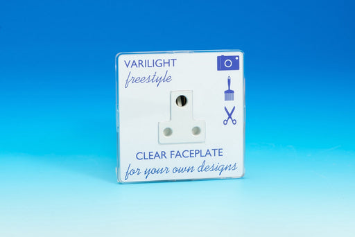 Varilight XIFRP5ACW - 1-Gang 5A Round Pin Socket