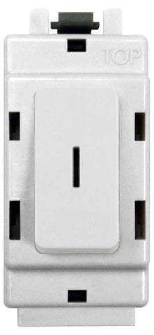 BG Nexus G12KY Grid 20AX 2 Way Single Pole Secret KEY Module  White