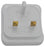 BG USBPLGW USB CHARGER Plug Polished White - BG - sparks-warehouse