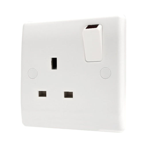BG Nexus 821DP 13A Double Pole 1 Gang Switched Socket