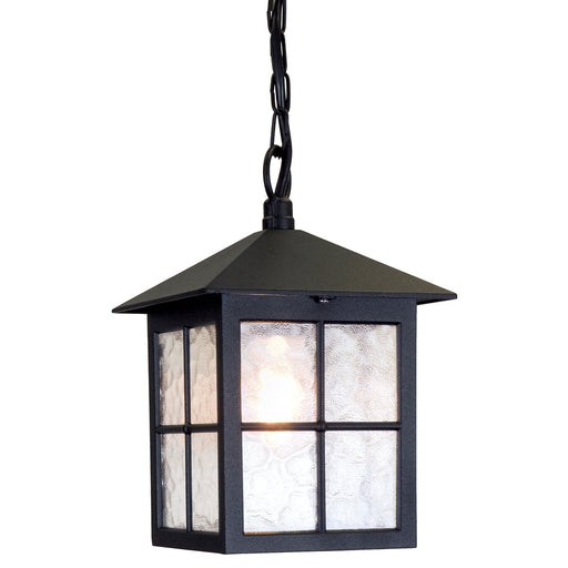 Elstead - BL18B BLACK Winchester 1 Light Chain Lantern - Elstead - Sparks Warehouse