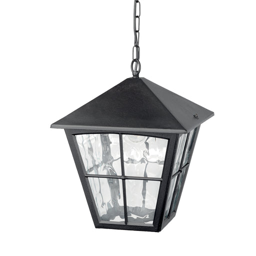 Elstead - BL38 BLACK Edinburgh 1 Light Chain Lantern - Elstead - Sparks Warehouse