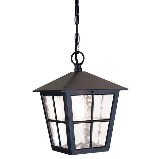 Elstead - BL48M BLACK Canterbury 1 Light Grande Chain Lantern - Elstead - Sparks Warehouse