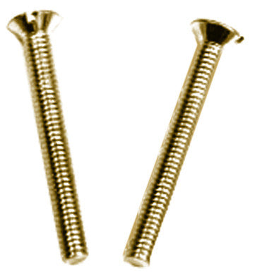 BG Nexus NFS28/10BR 28MM FIXING SCREWS BRASS RAISED HEAD (PACK 10)