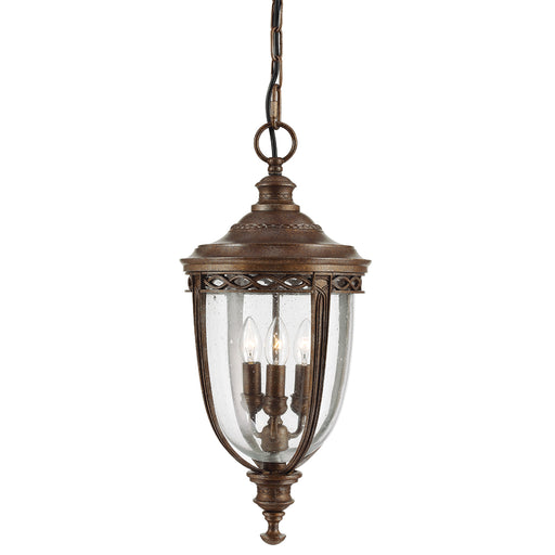 Elstead - FE/EB8/L BRB English Bridle 3 Light Large Chain Lantern - British Bronze - Elstead - Sparks Warehouse