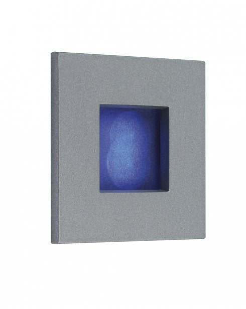 Firstlight 1133BL LED Wall & Step Light - Aluminium with Blue LED's - Firstlight - sparks-warehouse