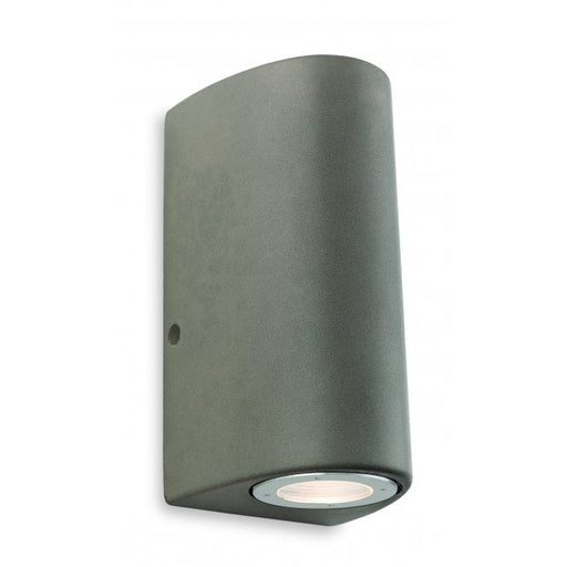 Firstlight 7634CN Marlow 2 Light Outdoor Wall Light - Concrete Grey - Firstlight - Sparks Warehouse