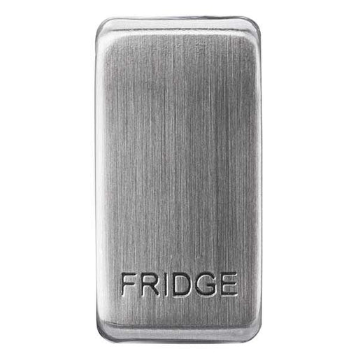 BG Nexus GRFDBS Grid Rocker Labelled  *FRIDGE* Brushed Steel