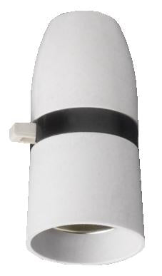 "05135 Plastic BC Lampholder ½"" Switched T2 100W - Lampfix - sparks-warehouse"