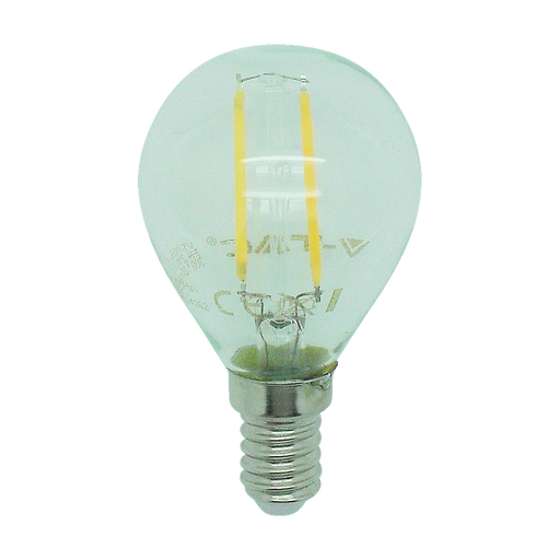 15156 - 2W SES Clear LED Filament Golf Ball - Lampfix - Sparks Warehouse