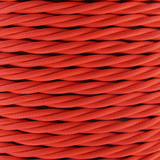 01786 - T-T Braided Flex 3 core 0.5mm Fluorescent Pink Cable