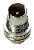 "05157 SBC Lampholder ½"" Nickel"