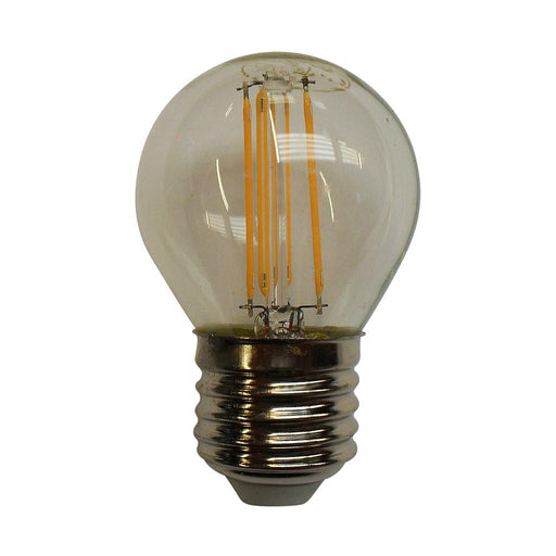 15332 - 4W ES Clear LED Filament Golf Ball - Lampfix - Sparks Warehouse