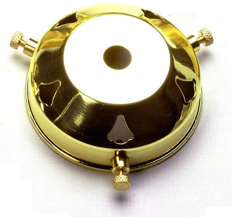 "05215 - 2¼"" Polished Brass Gallery 10mm hole"