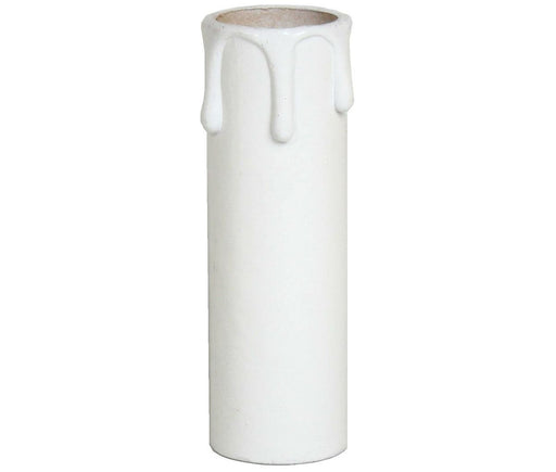 05185 - Plastic Candle Drip White - 24 x 85mm - Lampfix - Sparks Warehouse
