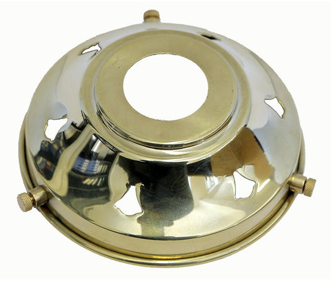 05650 - 3?'' Polished Brass Gallery 29mm hole