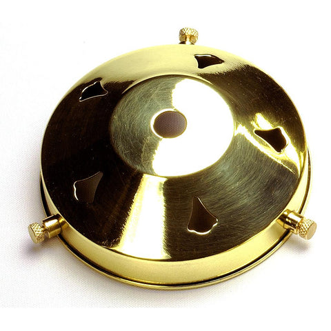 "05217 - 3¼"" Polished Brass Gallery 10mm hole"