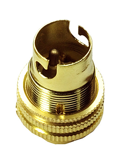 "05156 SBC Lamp Holder ½"" Brass - LampFix - sparks-warehouse"