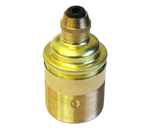 05981 Lampholder ES Brass Threaded Skirt with Cordgrip - LampFix - sparks-warehouse