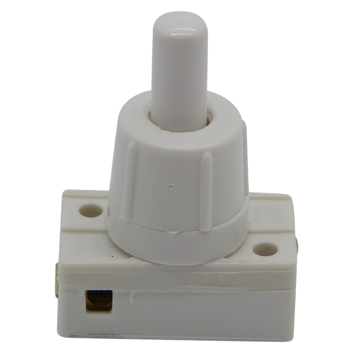 05277 Mini Press Switch Long Neck White 2A