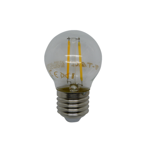 15149 - 2W ES Clear LED Filament Golf Ball - Lampfix - Sparks Warehouse