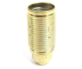 Lampfix 05017 Ecofix Continental L/H 10mm SES Brassed Full Threaded