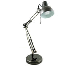Lampfix 09191 Halogen Studio Poise Desk Lamp - Black Chrome