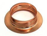 Lampfix 05220 Shade Ring SES Copper. Goes with 05098.