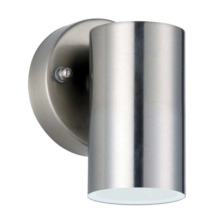 Luceco LEXDSS3F30 LED Stainless Steel Single IP54 Halogen Outdoor Wall Light